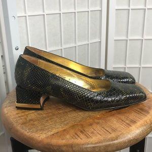 Timothy Hitsman Women's Square Heel Shoes Size 8N